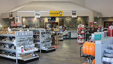 Inside Flory Parts Store