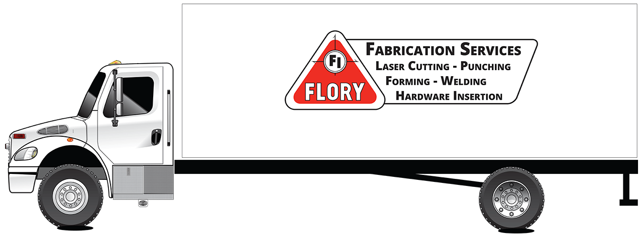 Flory Industries Contract Fabrication Delivery Truck
