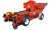 860 High Capacity, Low Dust PTO Nut Harvester